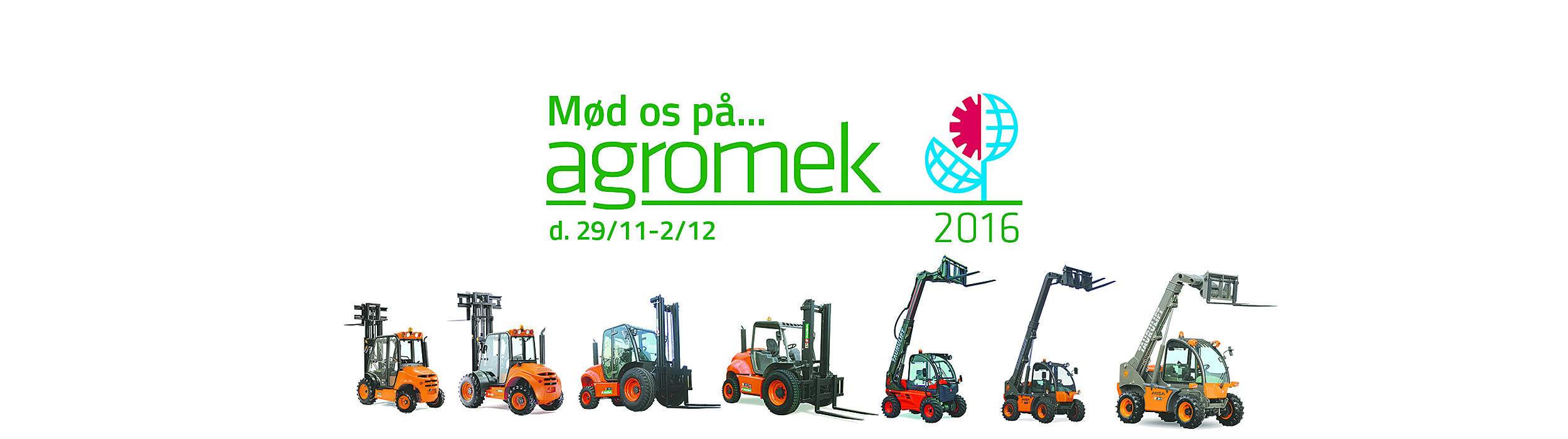Toyota Material Handling Danmark på Agromek