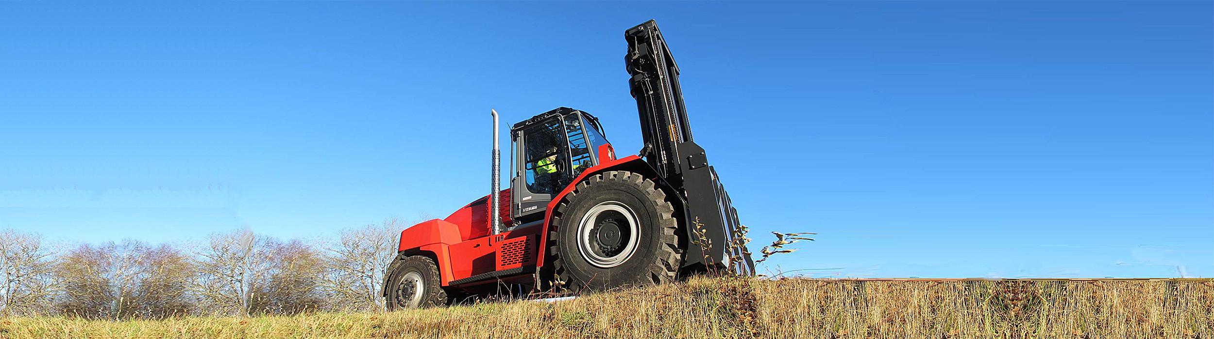 Toyota Material Handling lancerer Kalmar Big Wheel