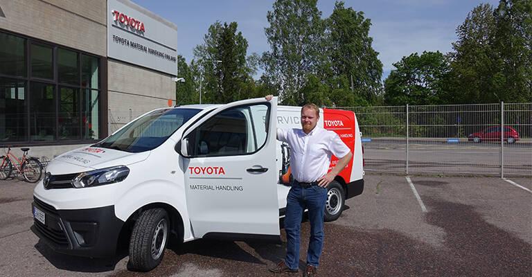 Toimitusjohtaja Pasi Nieminen Toyota