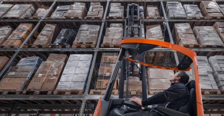 Reach forklift trucks from Toyota