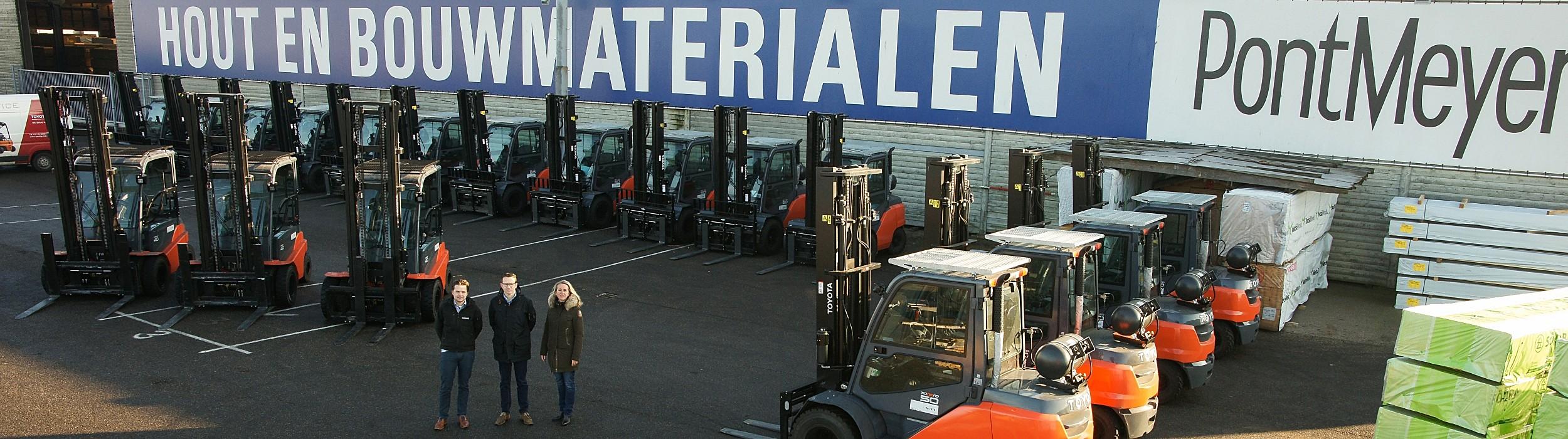 Pontmeyer vernieuwt vloot met Toyota's