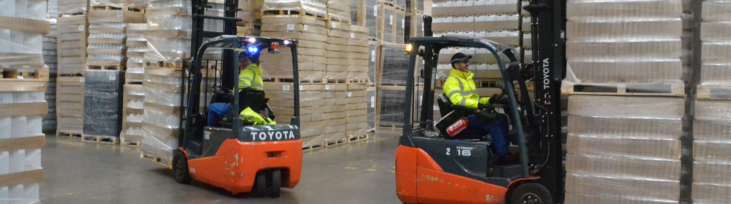 Toyota Akülü Forklift