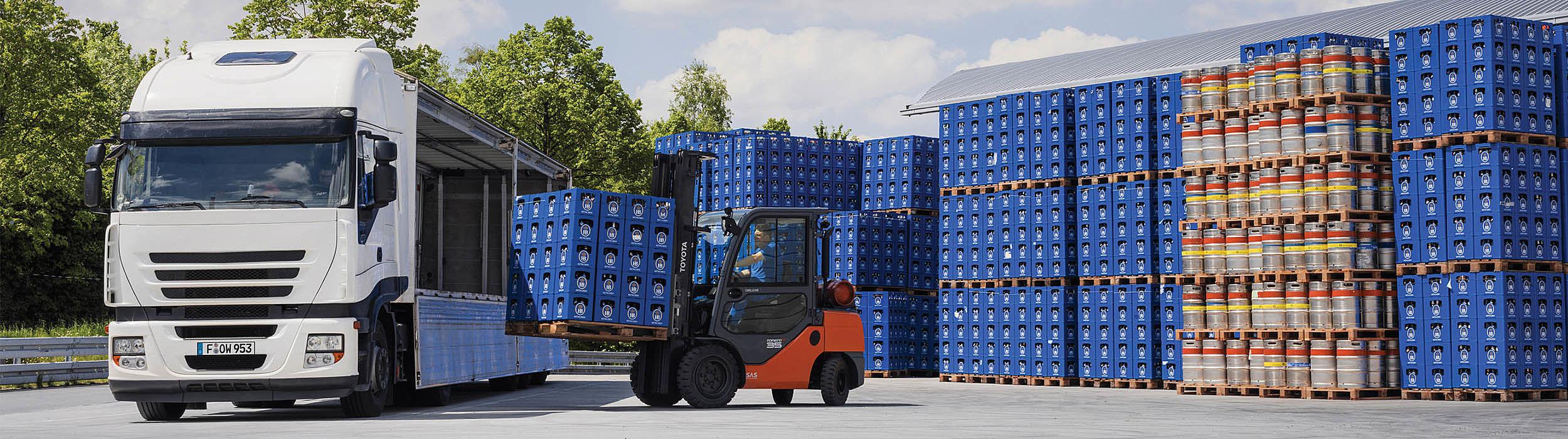 Logistická řešení pro nápojáře