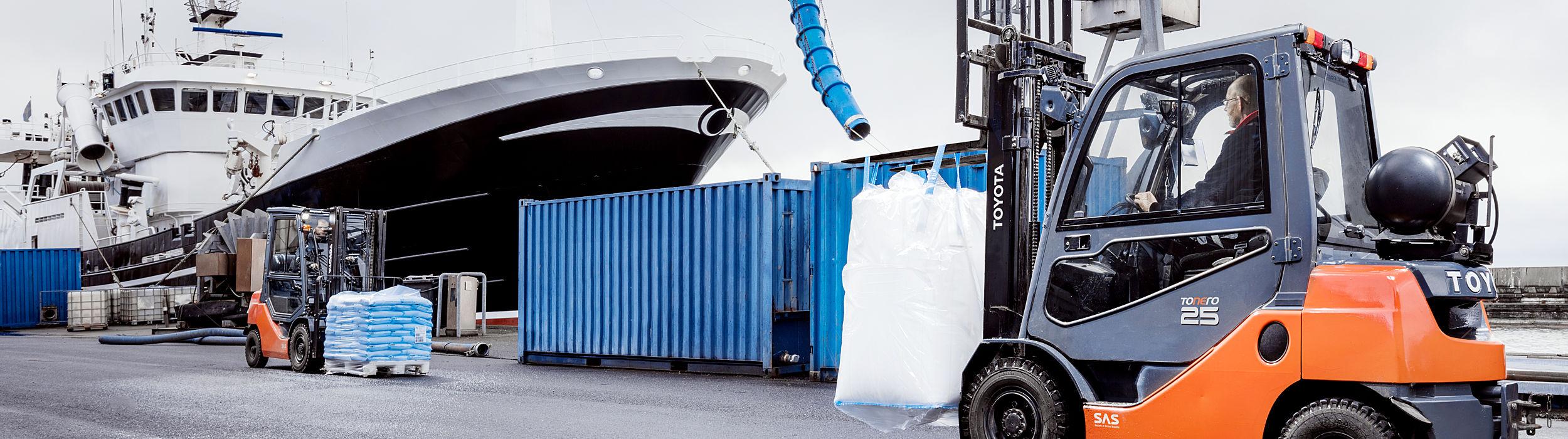 Trucker for fiskerinæring og havbruk