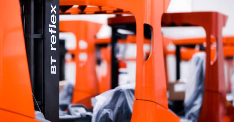 Nærbillede af Toyota Reflex