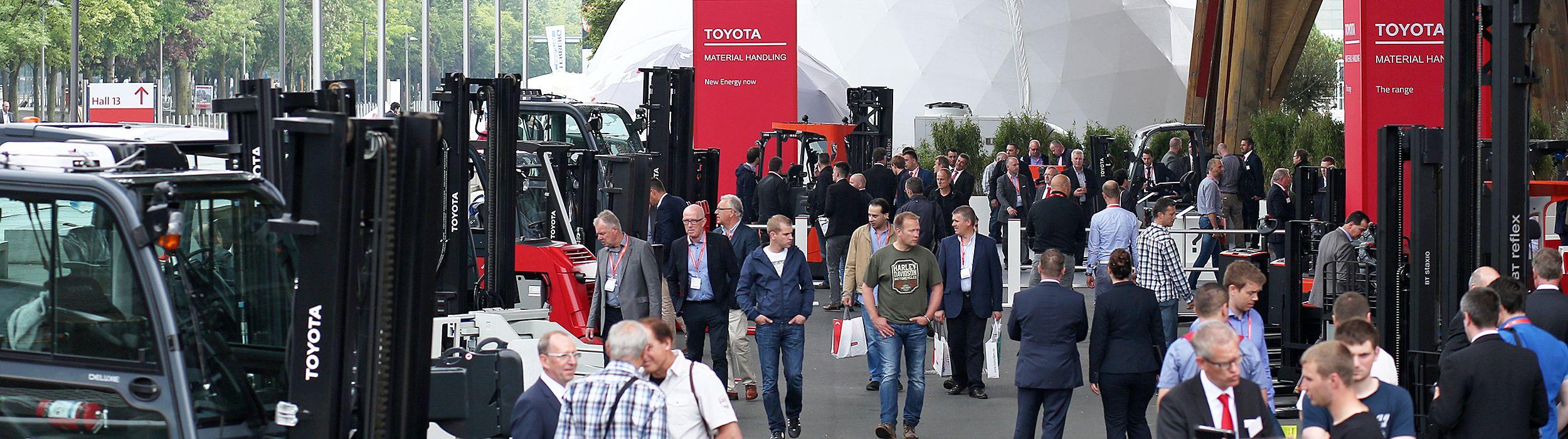 Europeiske messer Toyota Material Handling