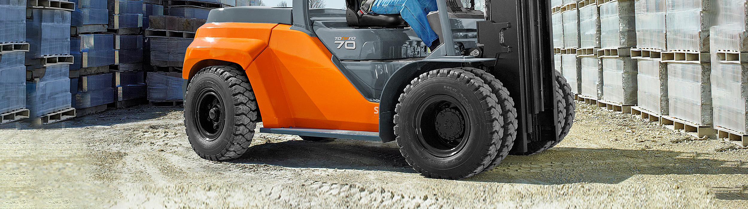 One stop shop for forklift tyres