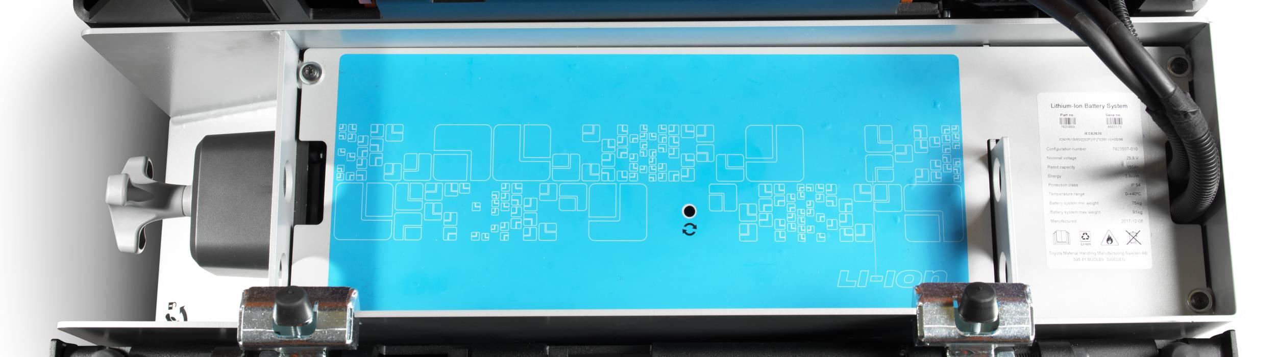 Sistema della batteria a ioni di Litio Toyota