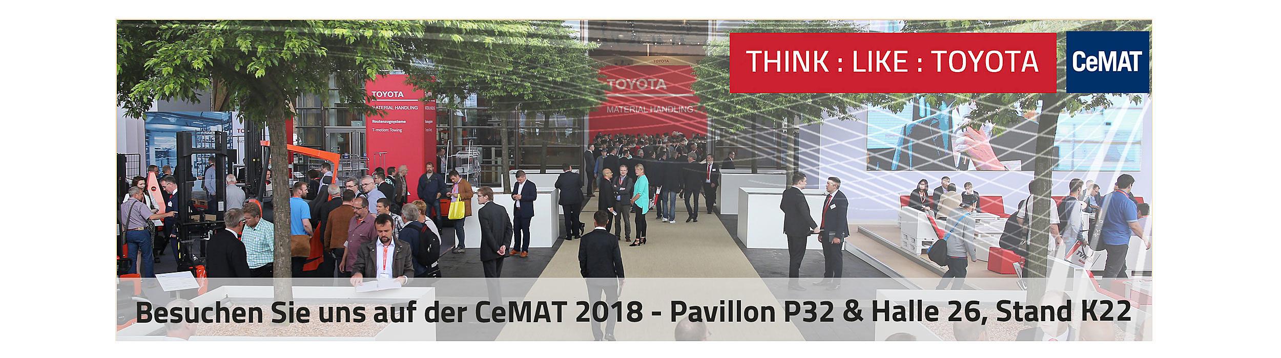 Toyota auf der CeMAT 2018