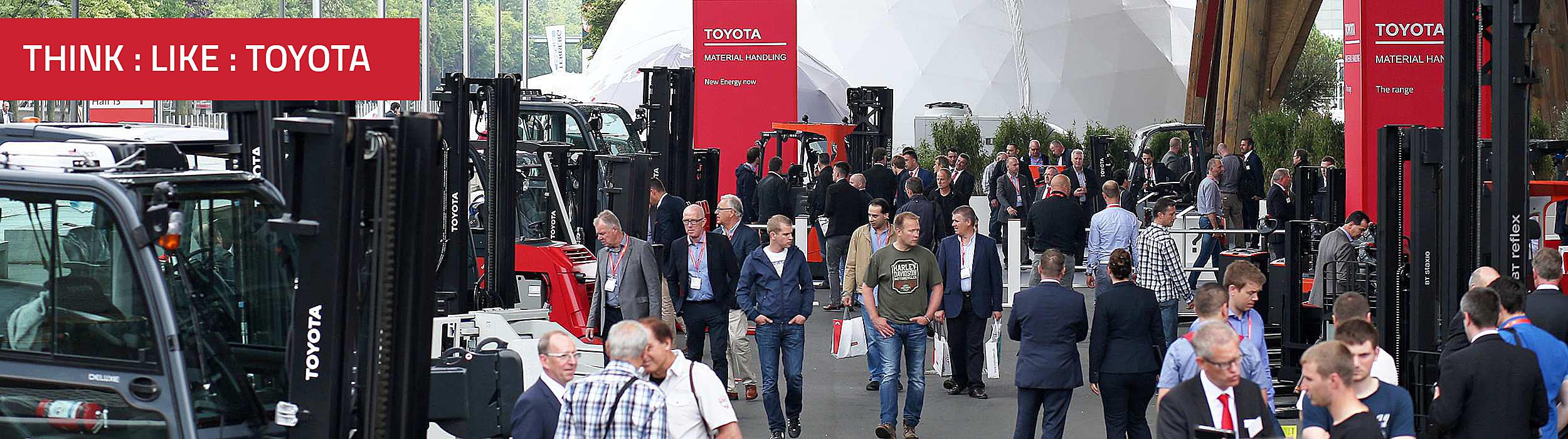 Toyota på CeMAT Hannover messen