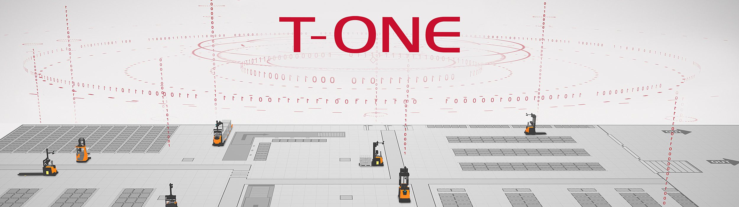 Toyota's AGV automatiserings software T-ONE