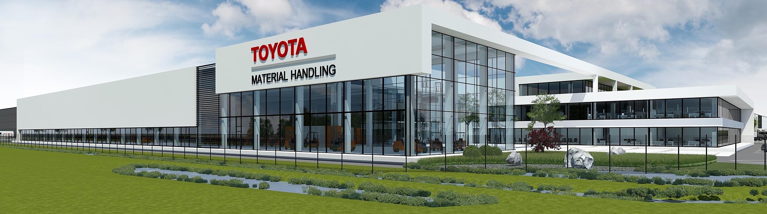 Toyota Material Handling Truck