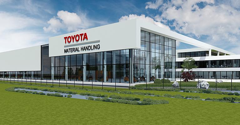 Toyota Material Handling Truck