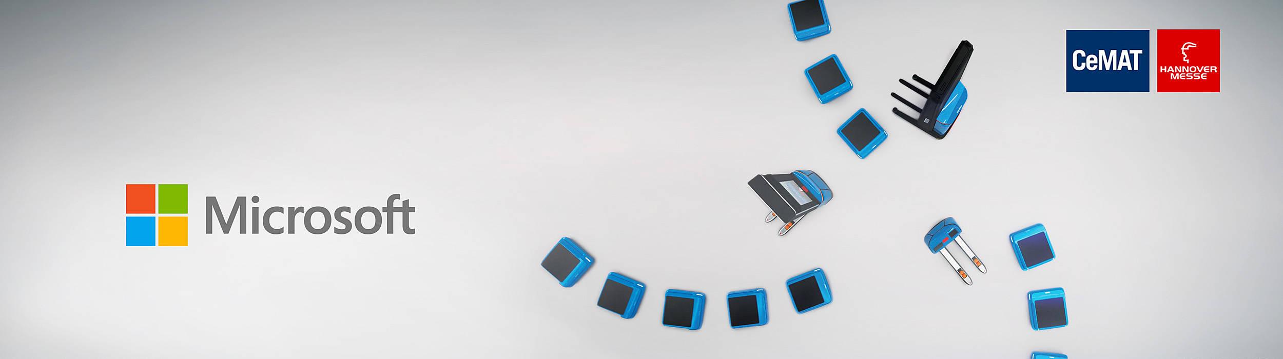 Microsoft og Toyota Material handling samarbejder for fremtiden