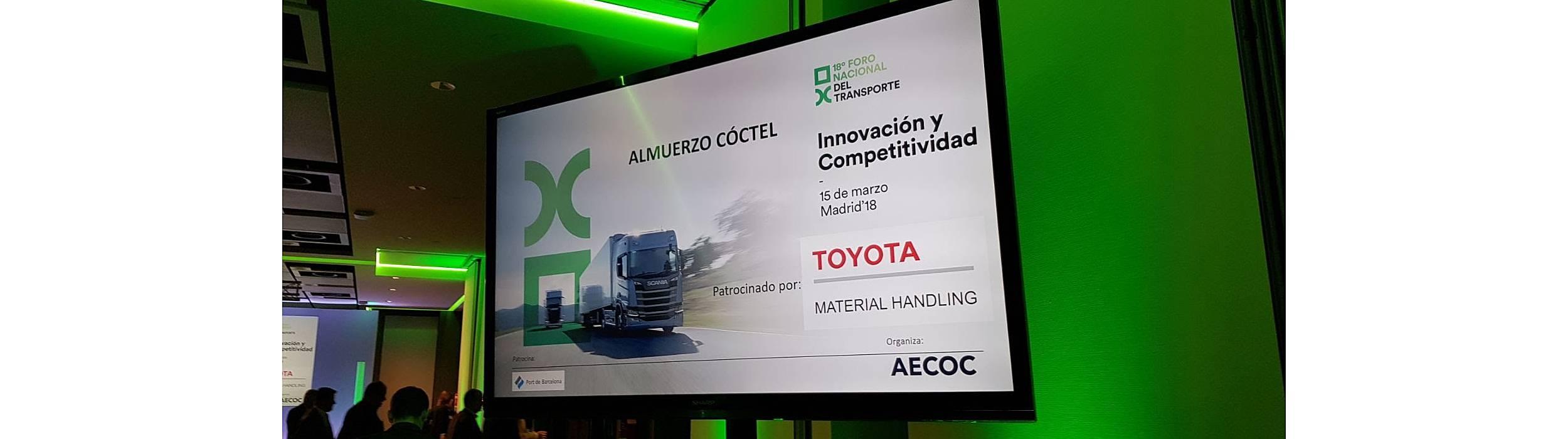 Espacio Networking patrocinado por Toyota Material Handling