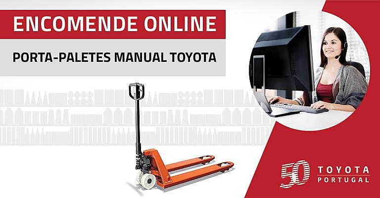porta paletes manual toyota