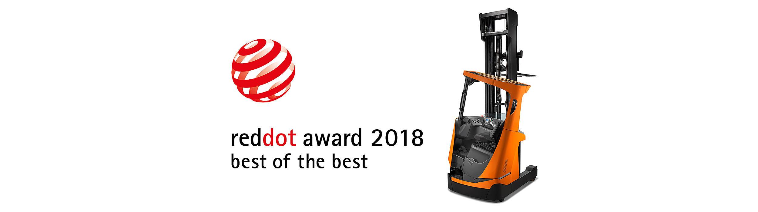 La Retr 225 Ctil Bt Reflex Serie E De Toyota Recibe El Red Dot Best Of The Best