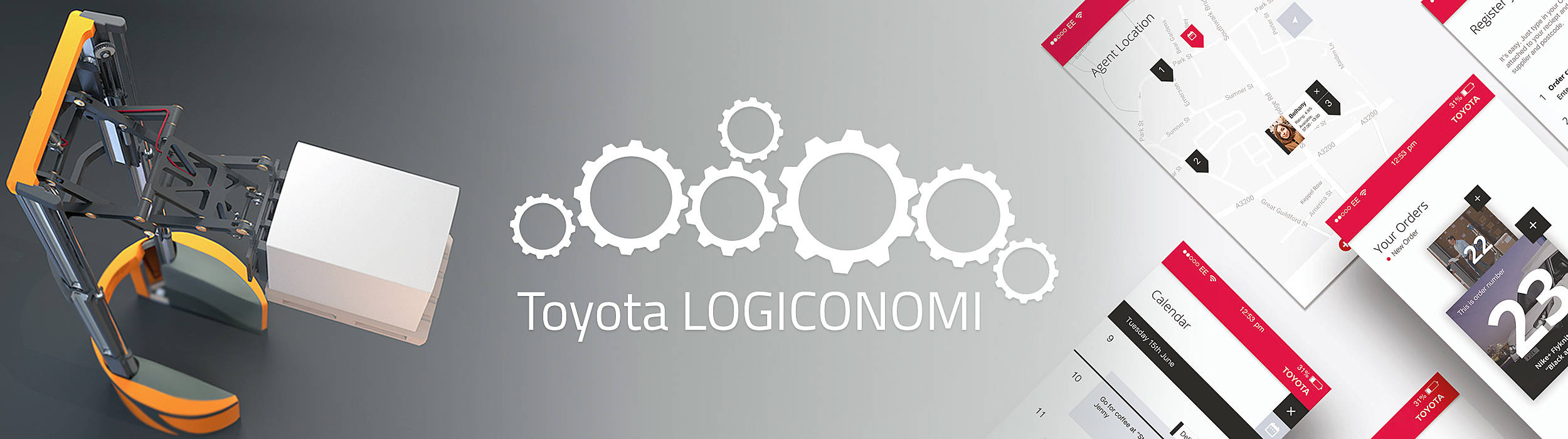 Toyota Logistic design and engineering vindere