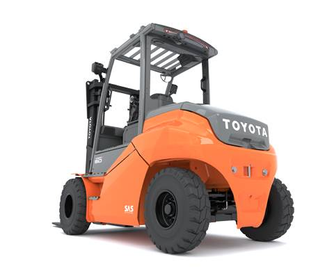 High-tonnage 80-V electric counterbalanced truck