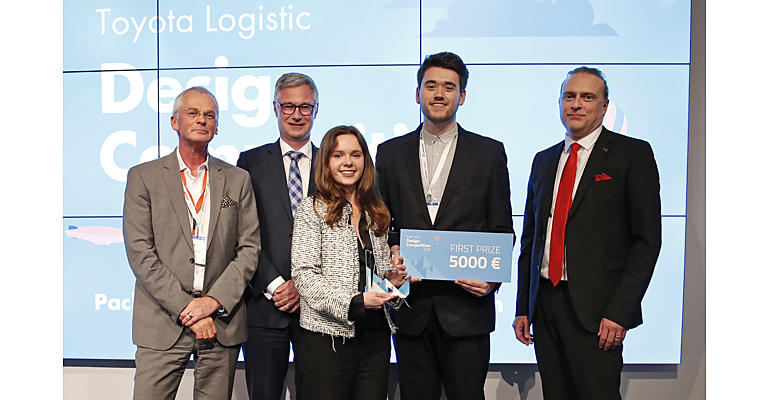 Toyota Logistic Design Competition winnaars
