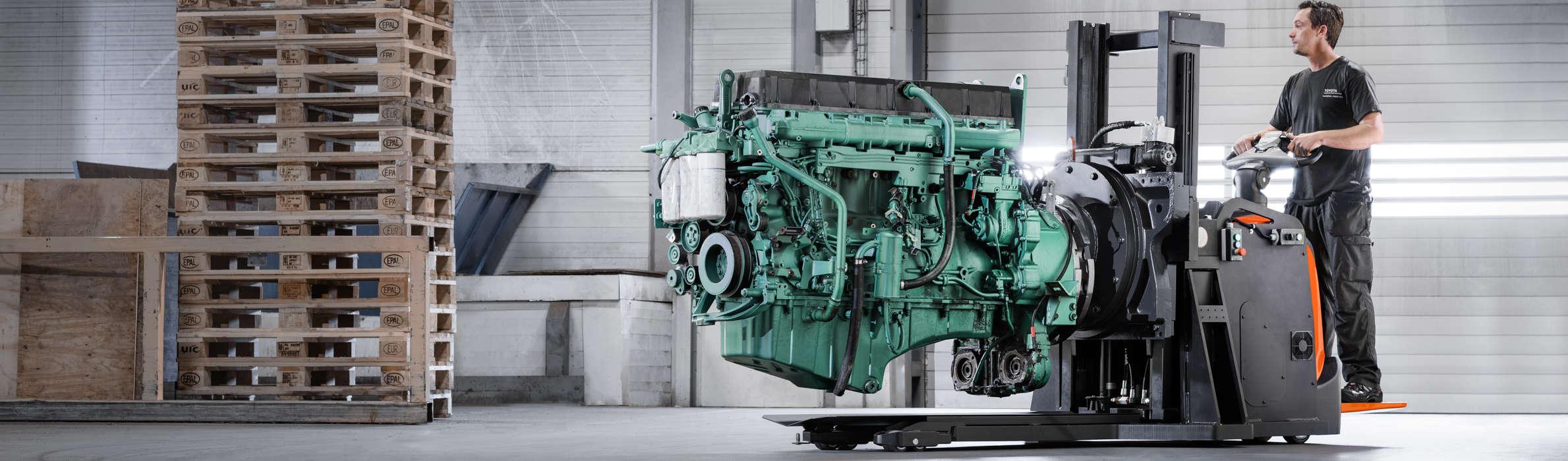 Toyota Material Handling met à votre disposition la force de son organisation pour trouver la solution chariots parfaitement adaptée à votre application