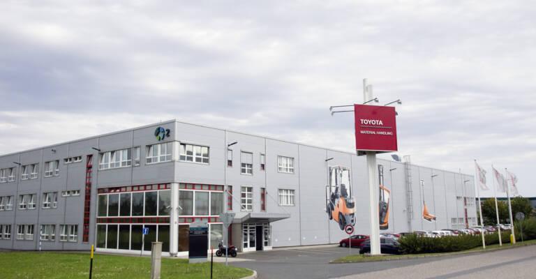 Sídlo Toyota Material Handling CZ v Rudné u Prahy