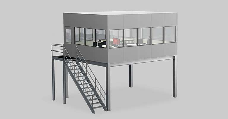 Mezzanines and partitioning