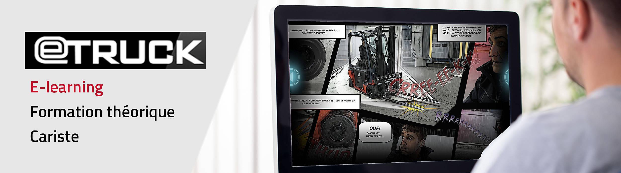 Formation cariste en ligne proposée par Toyota Material Handling