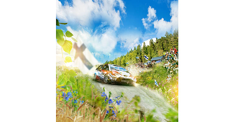 Toyota trukit ja Neste Ralli yhteistyössä
