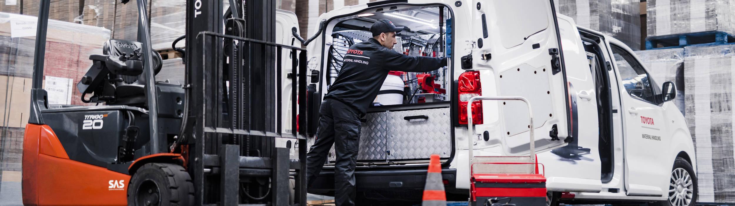 Θέση εργασίας ηλεκτρολόγος ανυψωτικών μηχανημάτων στην Αττική για την Toyota Material Handling Greece