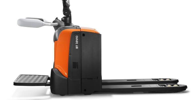 Lektrický paletový vozík LPE200B s volitelnou stupačkou