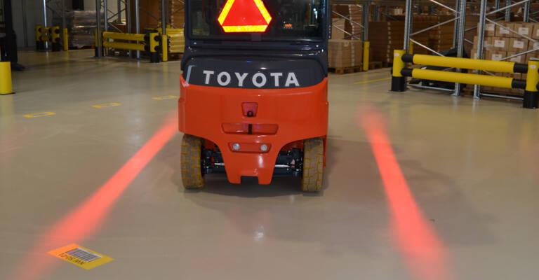 RedLine - øg sikkerheden ved truckkørsel