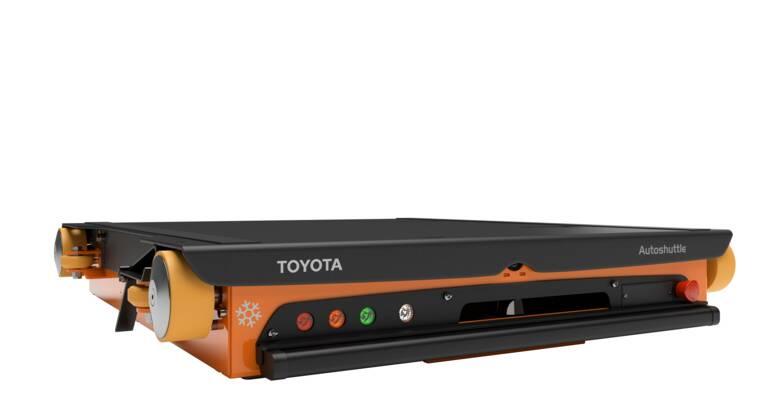 Das Toyota BT Radioshuttle ist ein automatisierter Lastenträger