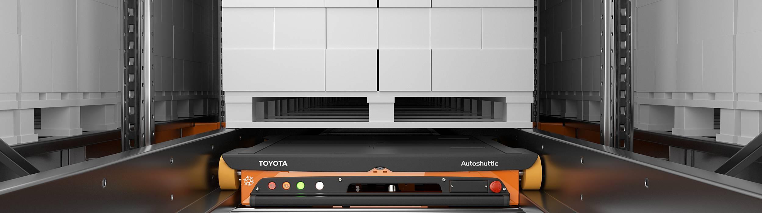 Toyota automatiserede radioshuttles