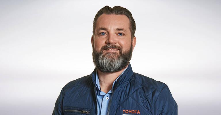 Jakob Bjerregaard Toyota Material Handling