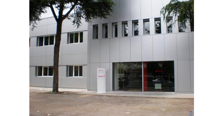 oficinas toyota material handling madrid
