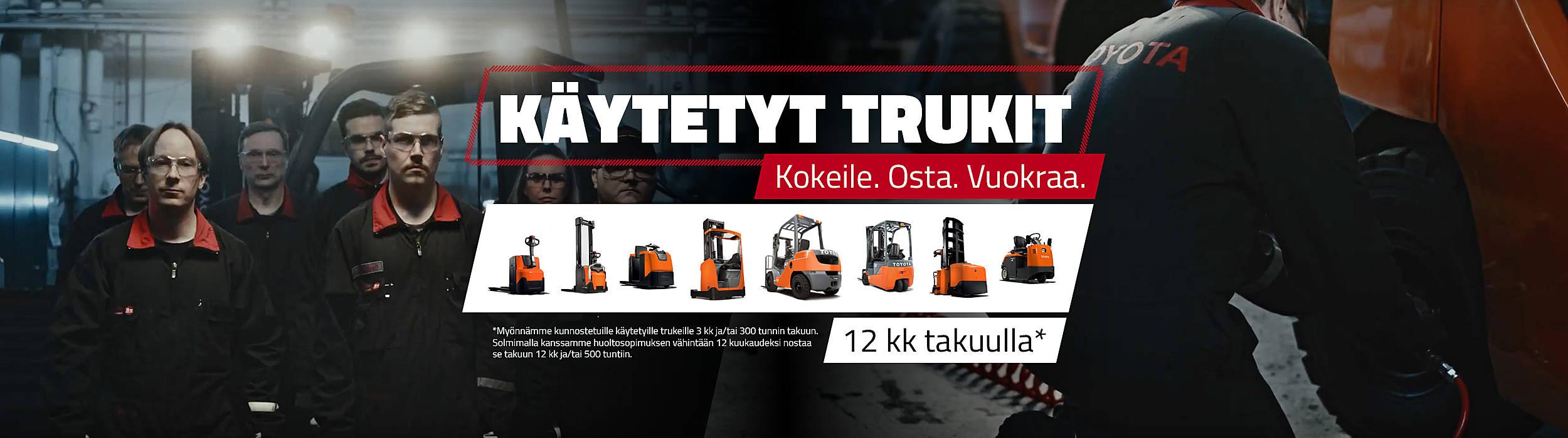 Käytetyt trukit suomessa