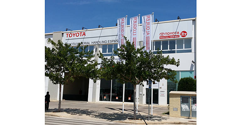 Delegación Toyota Material Handling en Valencia