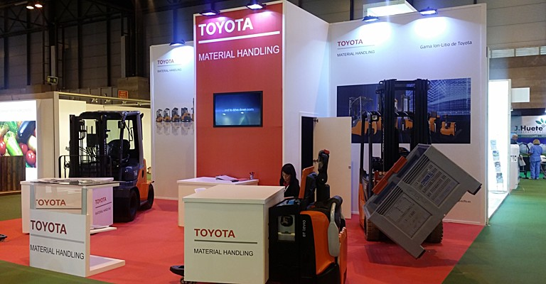 Stand Toyota Material Handling en Fruit Attraction 2017