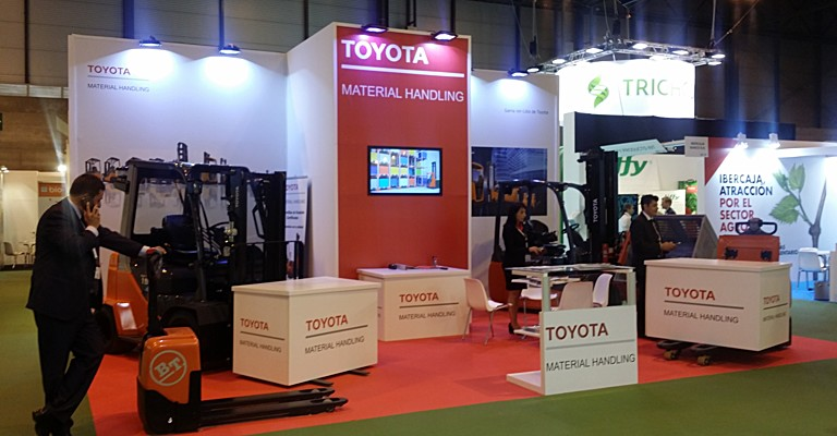 Stand Toyota Material Handling Fruit Attraction 2017