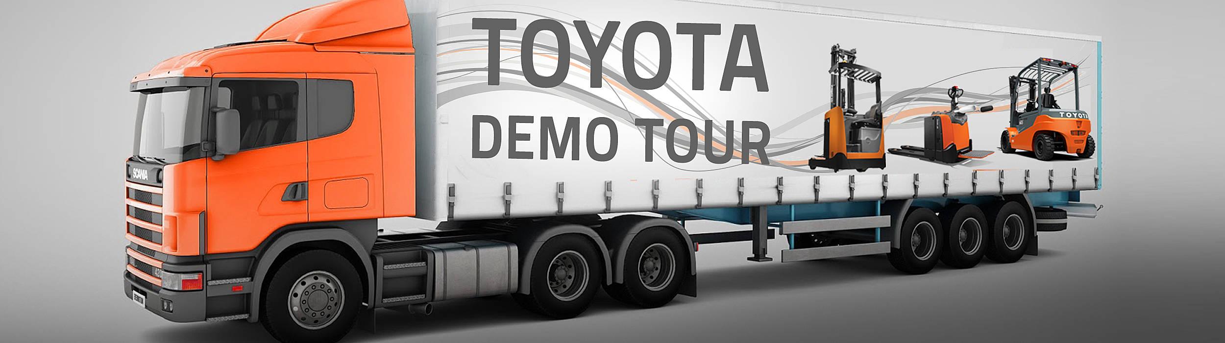 Toyota Demo Tour