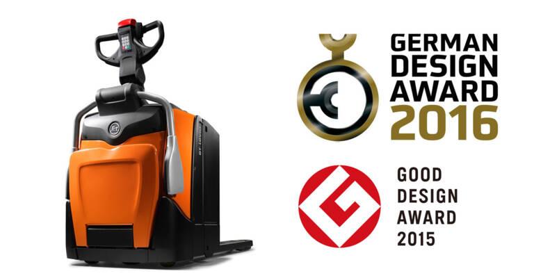 BT Levio and award logos