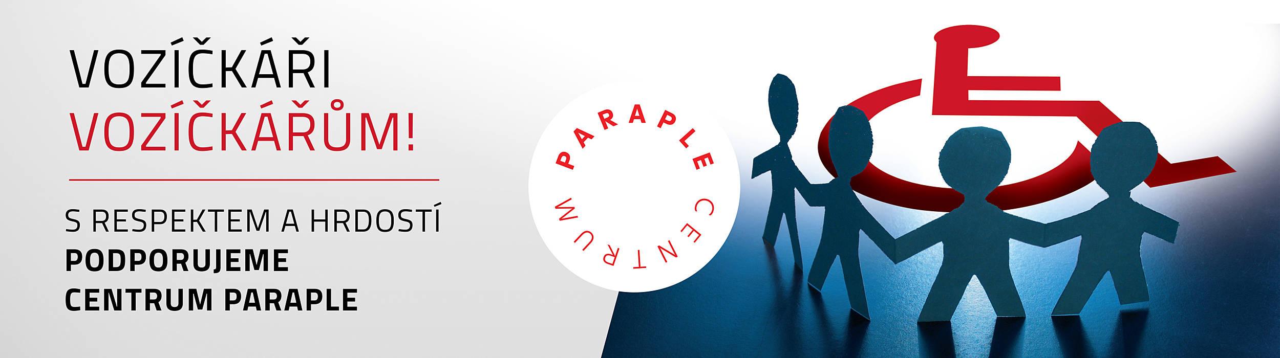Toyota podporuje Centrum Paraple - CSR společenská odpovědnost