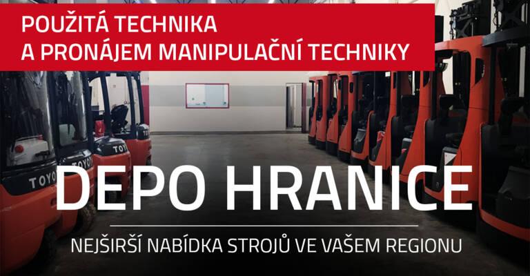 DEPO Hranice na Moravě - Toyota Material Handling CZ