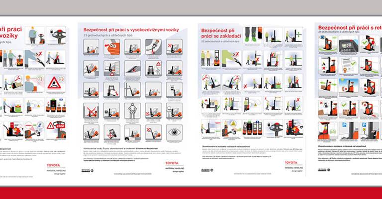 Plakáty manipulační techniky
