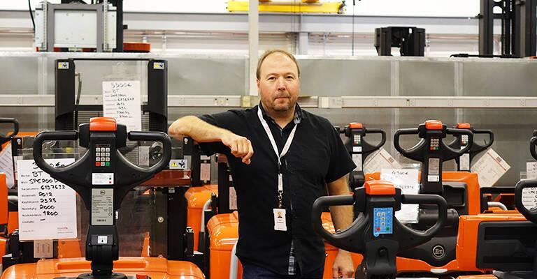 Toyota Material Handling Suomi asiakaspalvelupäällikkö
