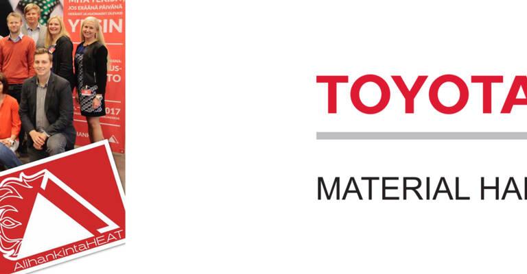 Toyota Material Handling Finland AlihankintaHEAT haastekumppanina