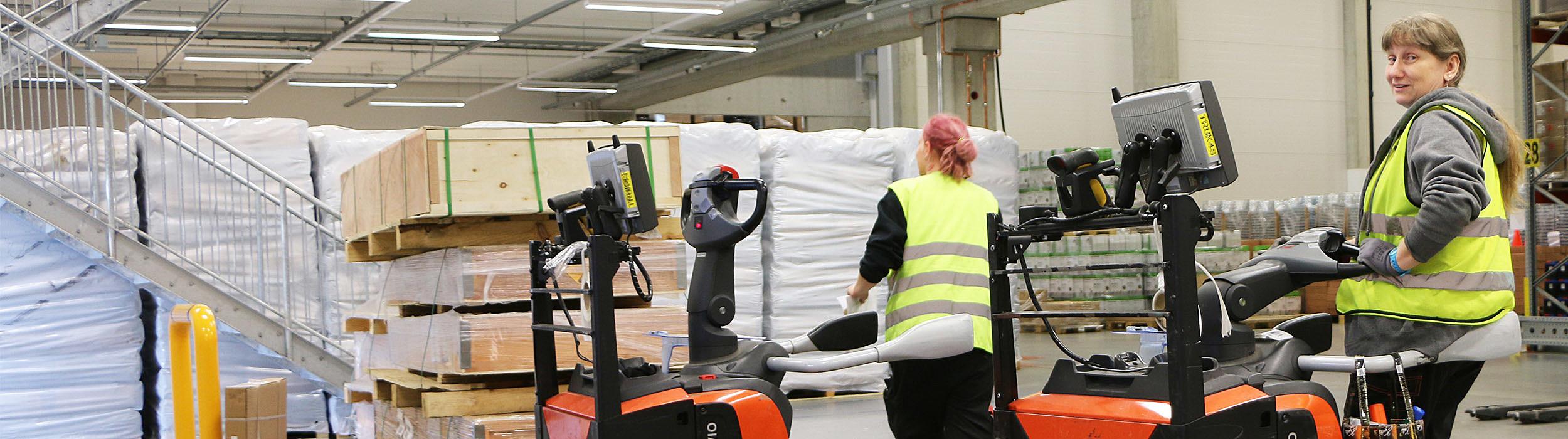 Broman logistics luotta Toyottan trukkien laatuun