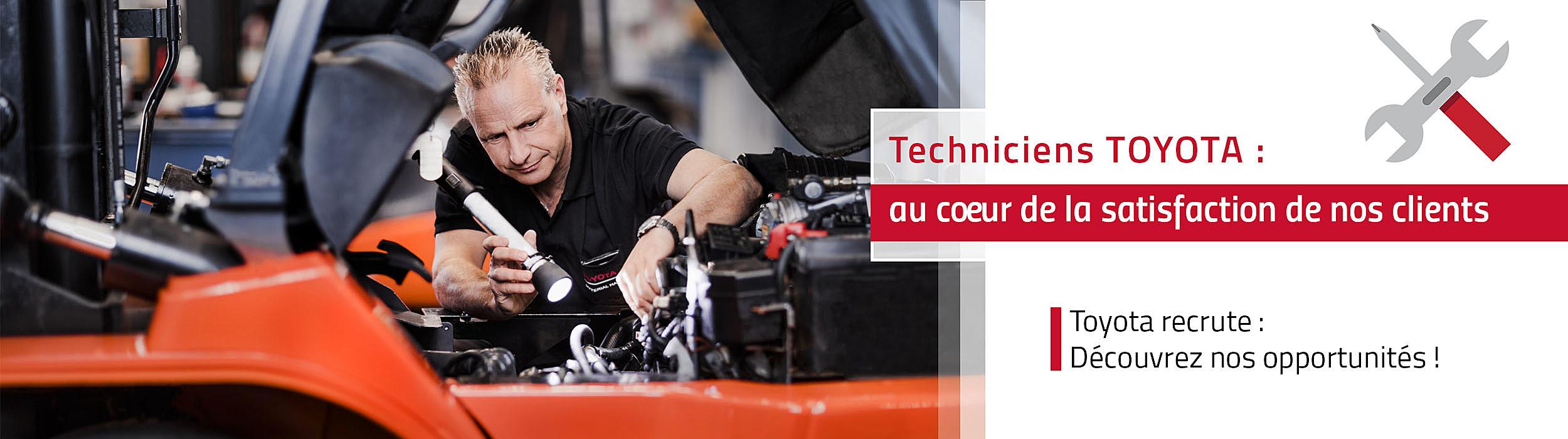 Toyota recrute des Techniciens SAV