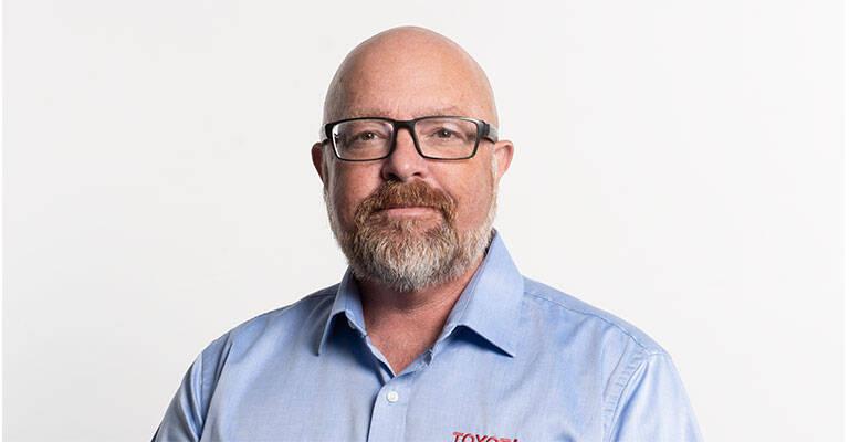 Henrik Myrholt Toyota Material Handling